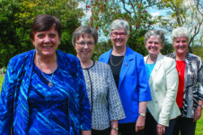 Newly elected Congregational Leadership Team and Thanks